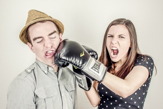 Negative response styles can lead to relationship breakdown